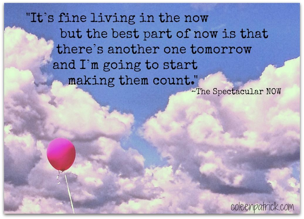 The Spectacular Now #quote
