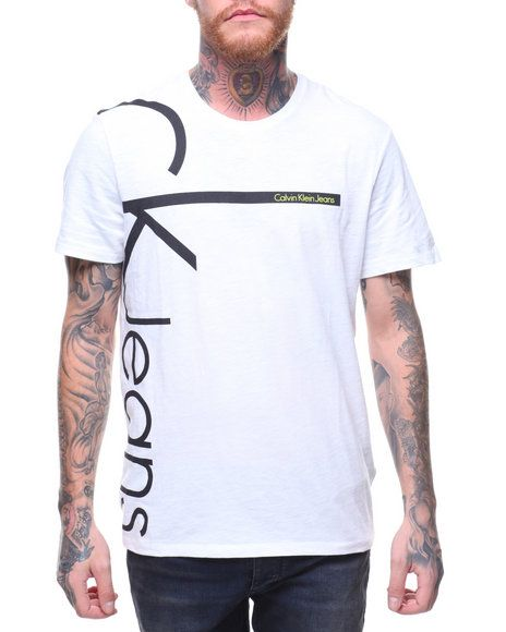 Find CK JEANS VERTICAL LOGO S S TEE Men s Shirts from Calvin Klein   more  at DrJays. on Drjays.com   T-shirts   Pinterest   Ck jeans bd042acfd5