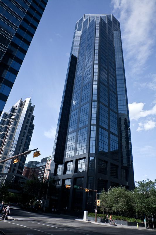 Canterra Tower, Calgary-Canada, 177 m, completion-1988, architect