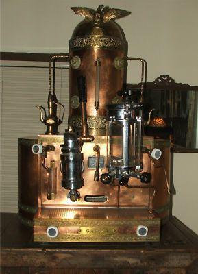 Gaggia Rare Vintage Copper Espresso Machine Circa 1960