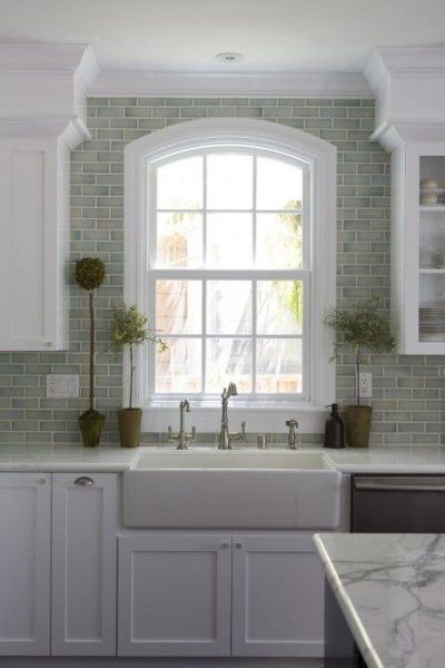 Design Trends Add Height With Counter To Ceiling Backsplash Tile