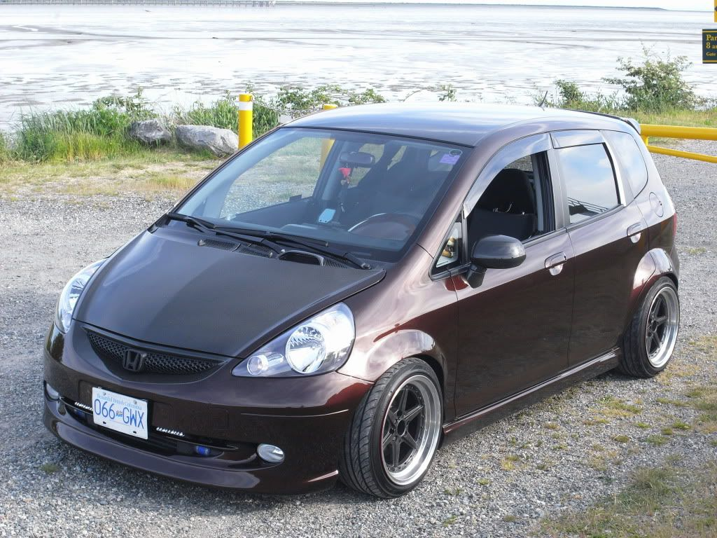 *9UP* Air'd Out Honda Fit GD3 Honda fit, Honda fit sport
