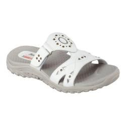 24748b2aaeb6 Shop for Women s Skechers Reggae Trench Town Slide Sandal White. Free  Shipping on orders over  45 at Overstock.com - Your Online Shoes Outlet  Store!