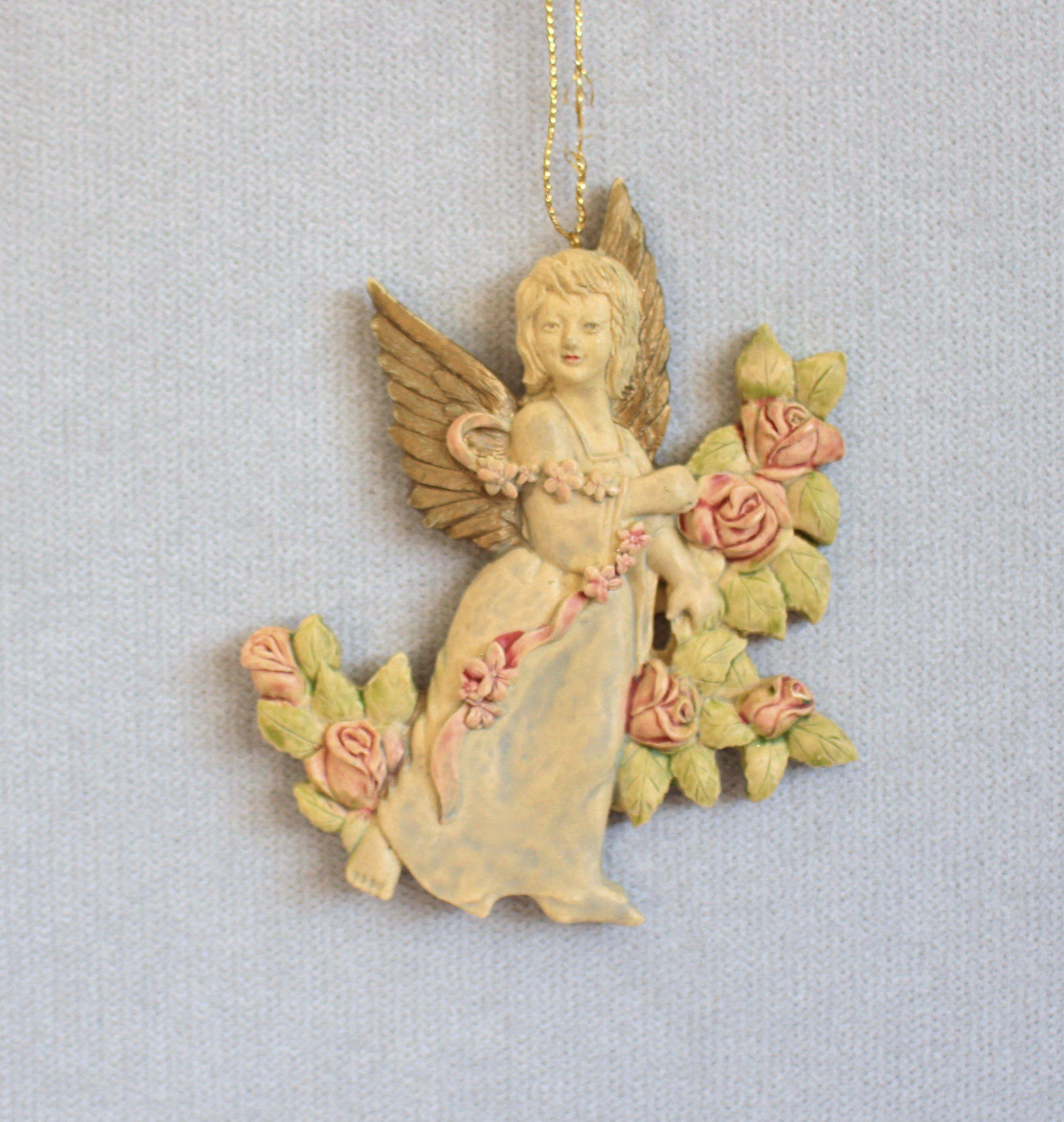 home decor Ceramic angel ornament