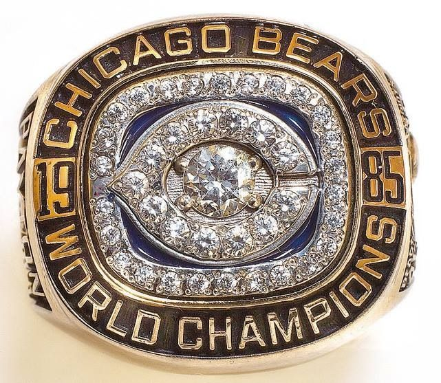 85 Bears Ring Chicago Bears Super Bowl Super Bowl Rings Super Bowl