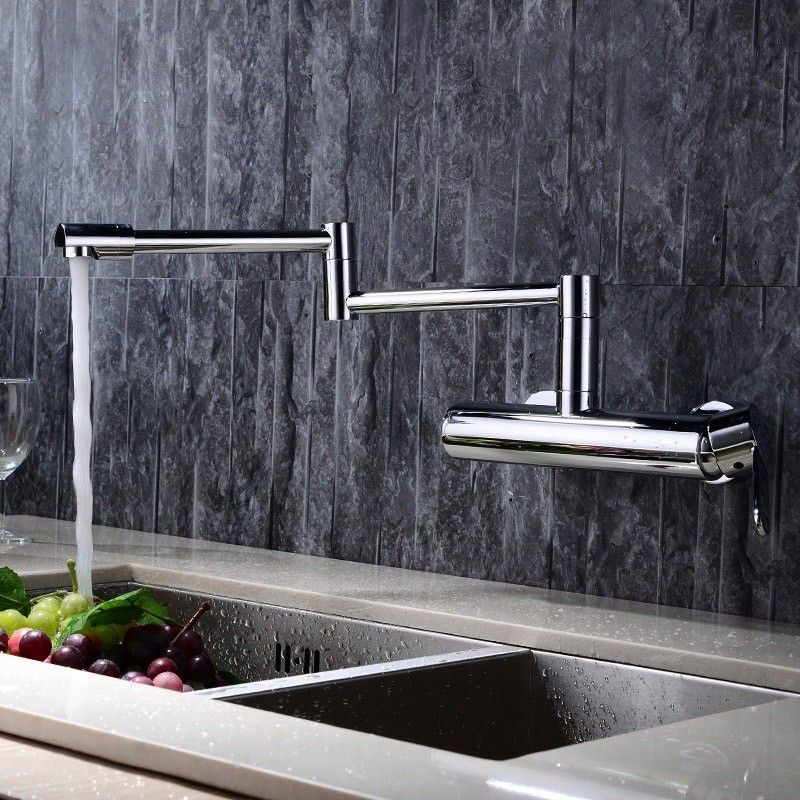 Wall Mounted Swing Arm Kitchen Sink Faucet, sold at only US$115.99 ...