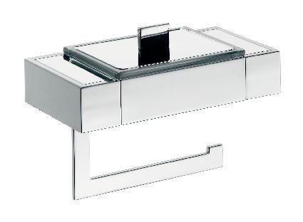 liaison paper holdermoist toilet tissue box chrome emco bad