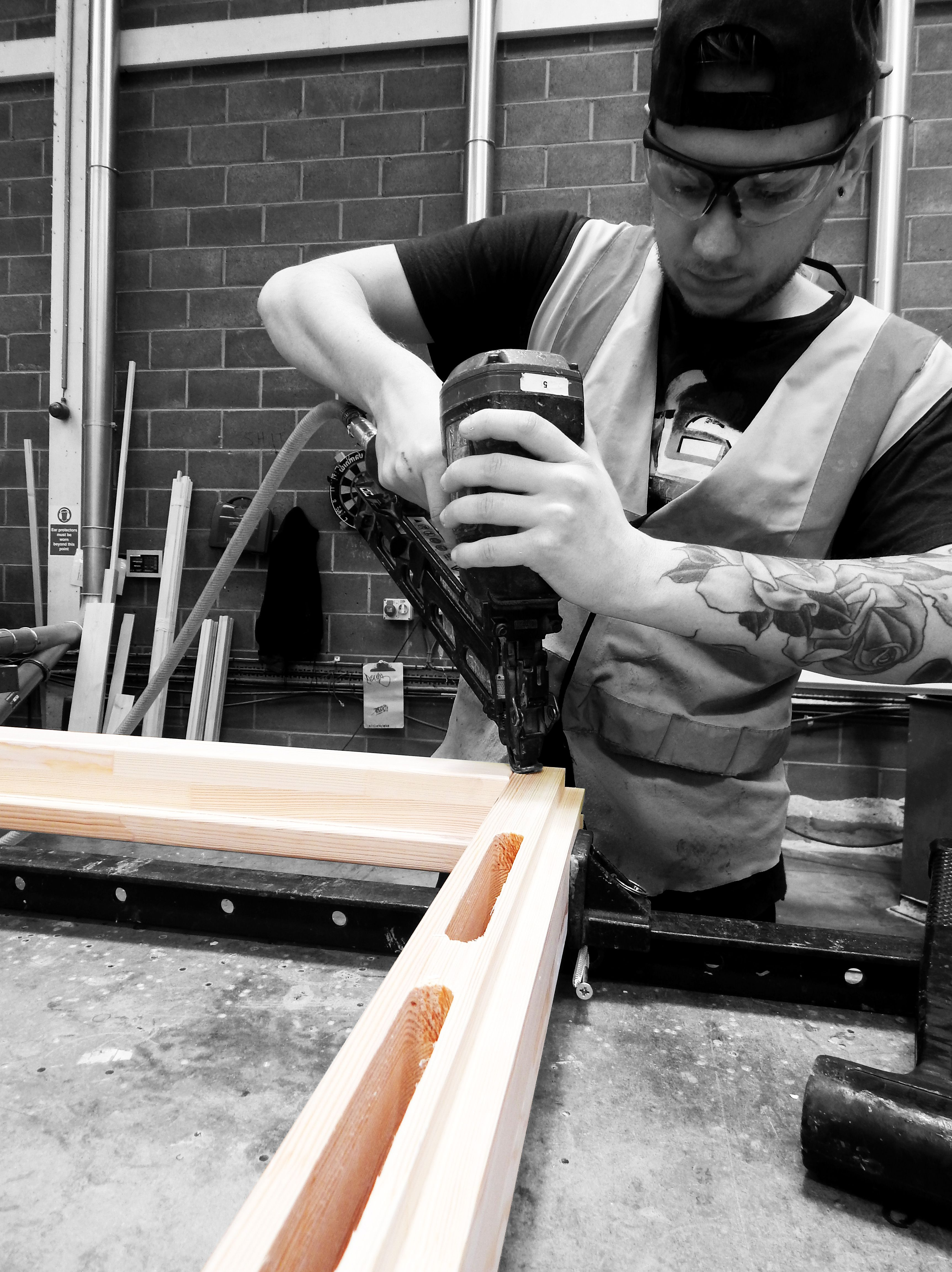 Factory shots of our amazing team of joiners manufacturing PDS high quality timber doors and windows & Factory shots of our amazing team of joiners manufacturing PDS ... pezcame.com