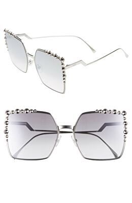 e7cb467b0f5d FENDI Designer 60mm Gradient Square Cat Eye Sunglasses