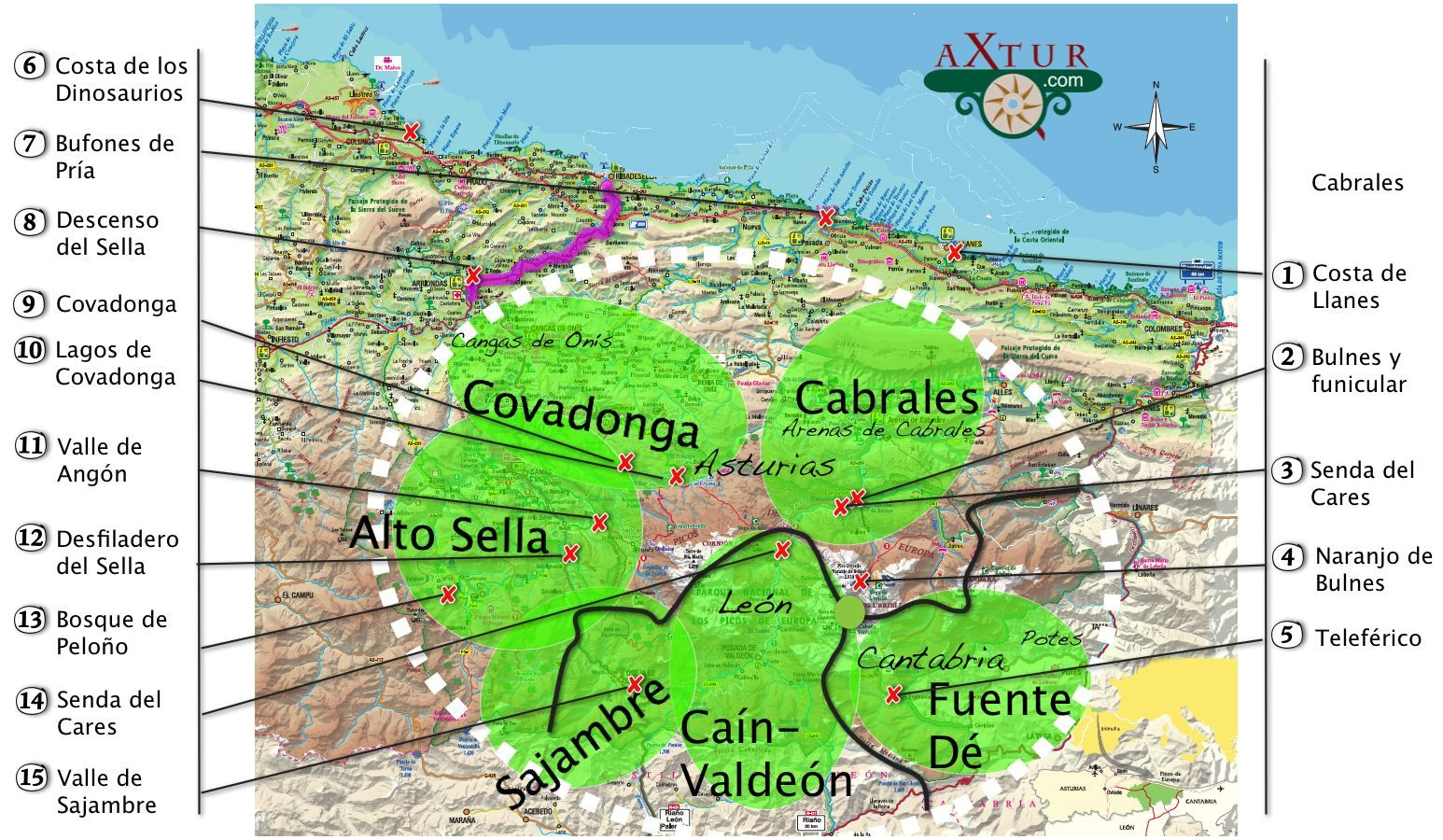 Axtur Casas Rurales Con Jacuzzi En Asturias 690342773 Picos De Europa Europa Lagos