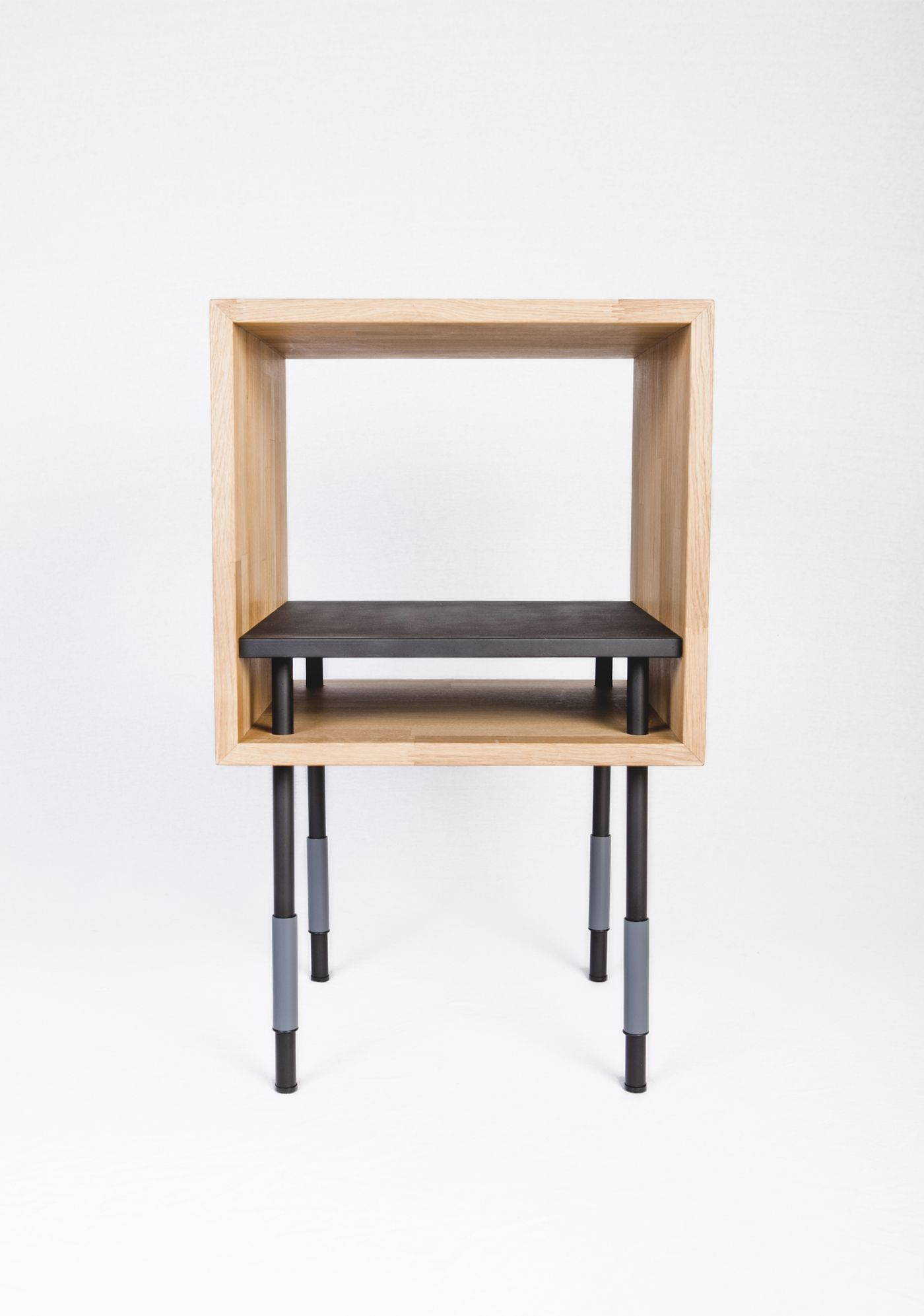 Jordi Lopez Aguilo_collection Y_cube Bedside_front Furniture  # Muebles Lopez Y Lopez