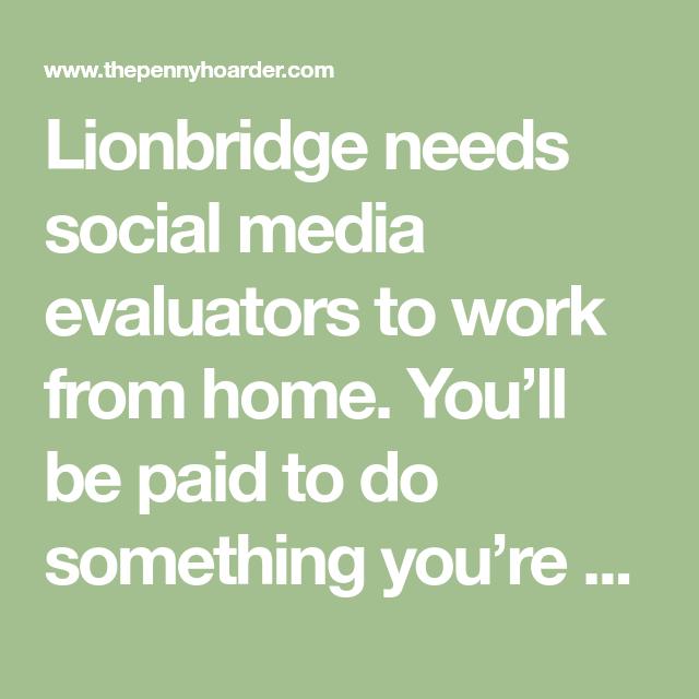 e7335ae7eec9974a39ee545e5346a7c9 - Lionbridge Social Media Evaluator Application