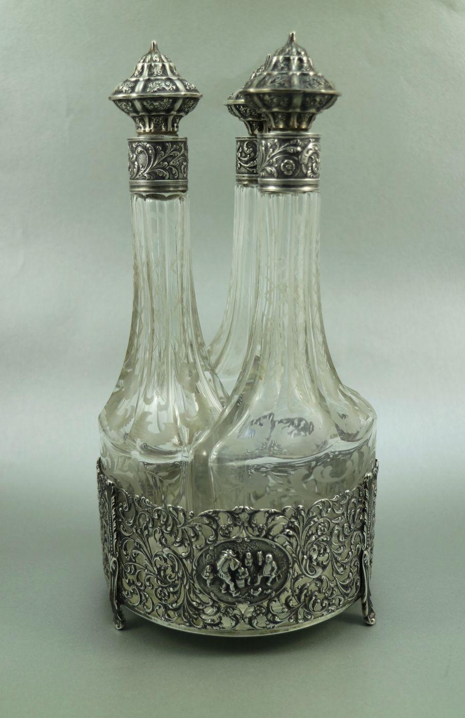 400e 26 cm Gewürzset Silber um 1911