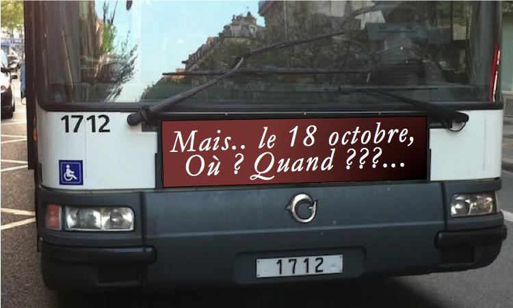 Ne ratez pas le bus !