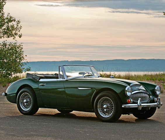 Make A Statement In This Clic Austin Healey British Racing Green Wildwednesday