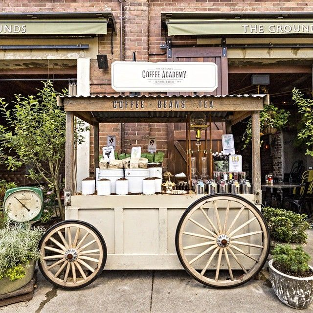 The Grounds Coffee Cart … | Coffee Names  carts  Kiosks in