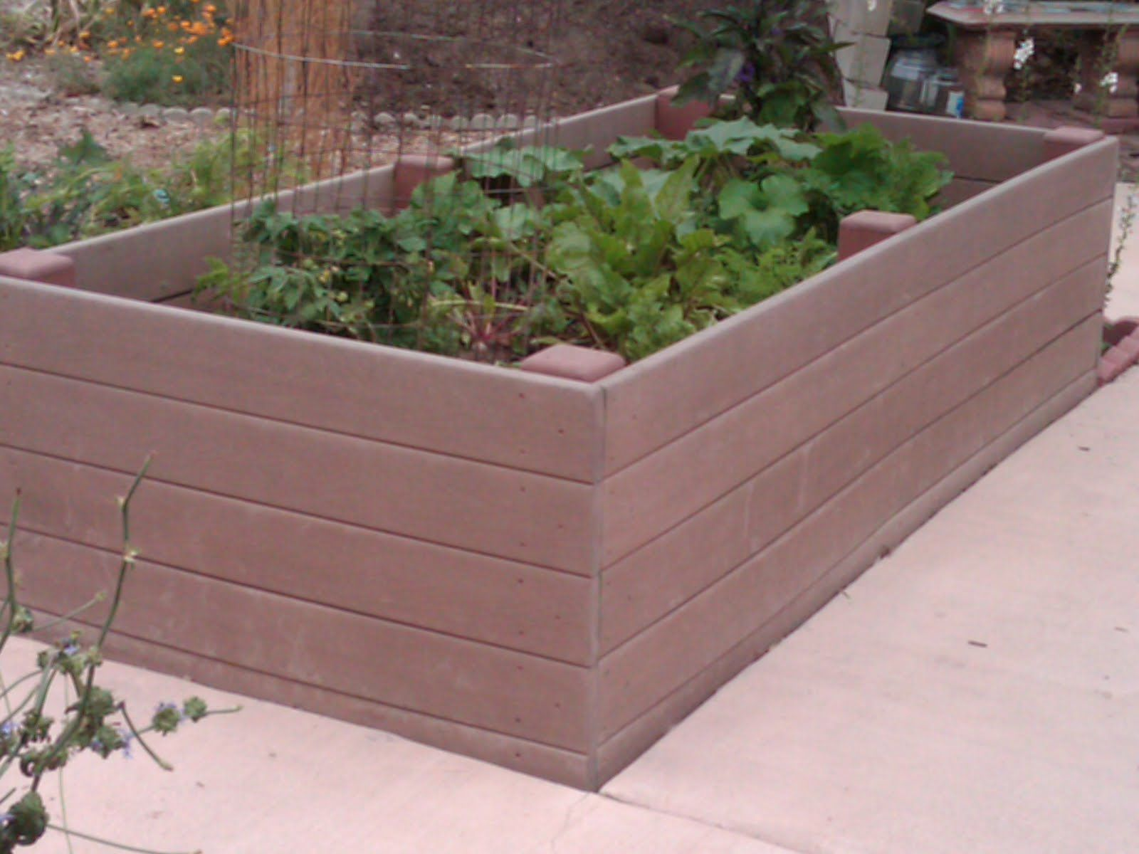 I Love Raised Flower Beds But D Never Thought Of Using