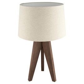 Buy tesco tripod table lamp walnutlinen shade from our table lamps buy tesco tripod table lamp walnutlinen shade from our table lamps range mozeypictures Gallery