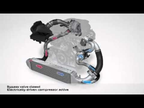 Audi Shows Engine With Electric Turbocharger Car Mechanic Audi Turbocharger