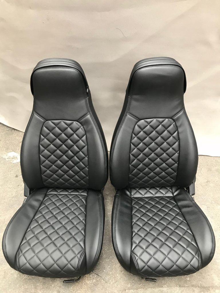 Carbonmiata Quilted Seat Covers For Na Set Of 2 Miata Na Mazda