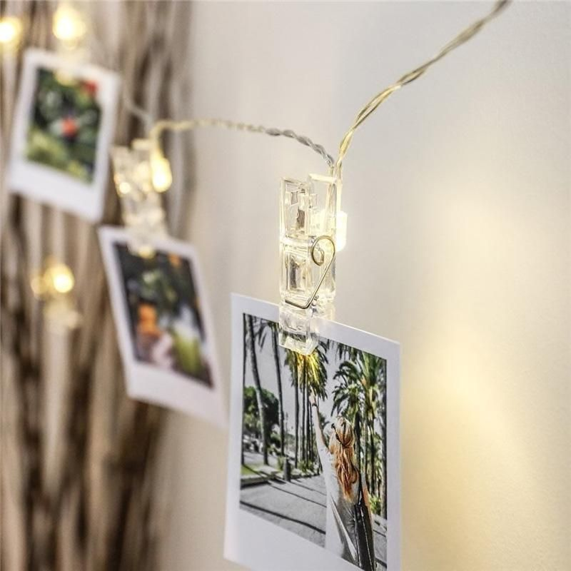 Photo String Lights #inspireuplift explore Pinterest
