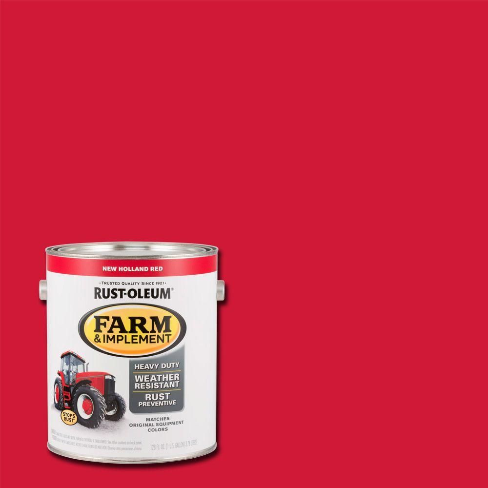 Rust Oleum 1 Gal Farm And Implement New Holland Red Paint Case