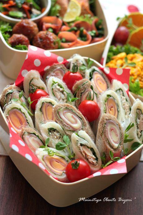 2011運動会サンドイッチのお弁当~行楽用のお弁当~