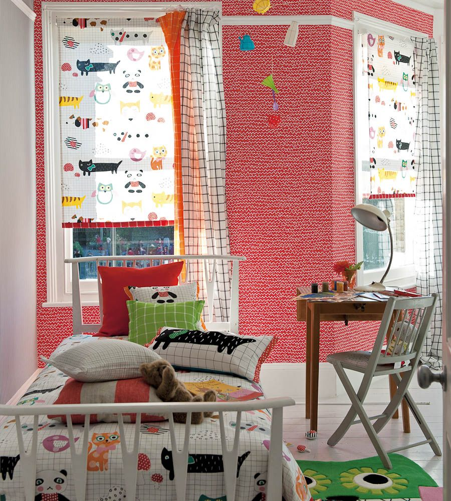 How to Style, Boys Rooms | My Best Friend Fabric by Designers Guild ...