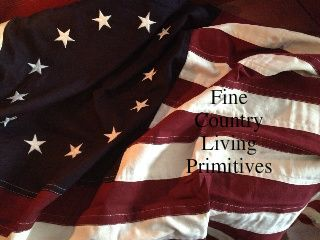 Americana - Fine Country Living Primitives - Primitive Colonial Country Home Decor