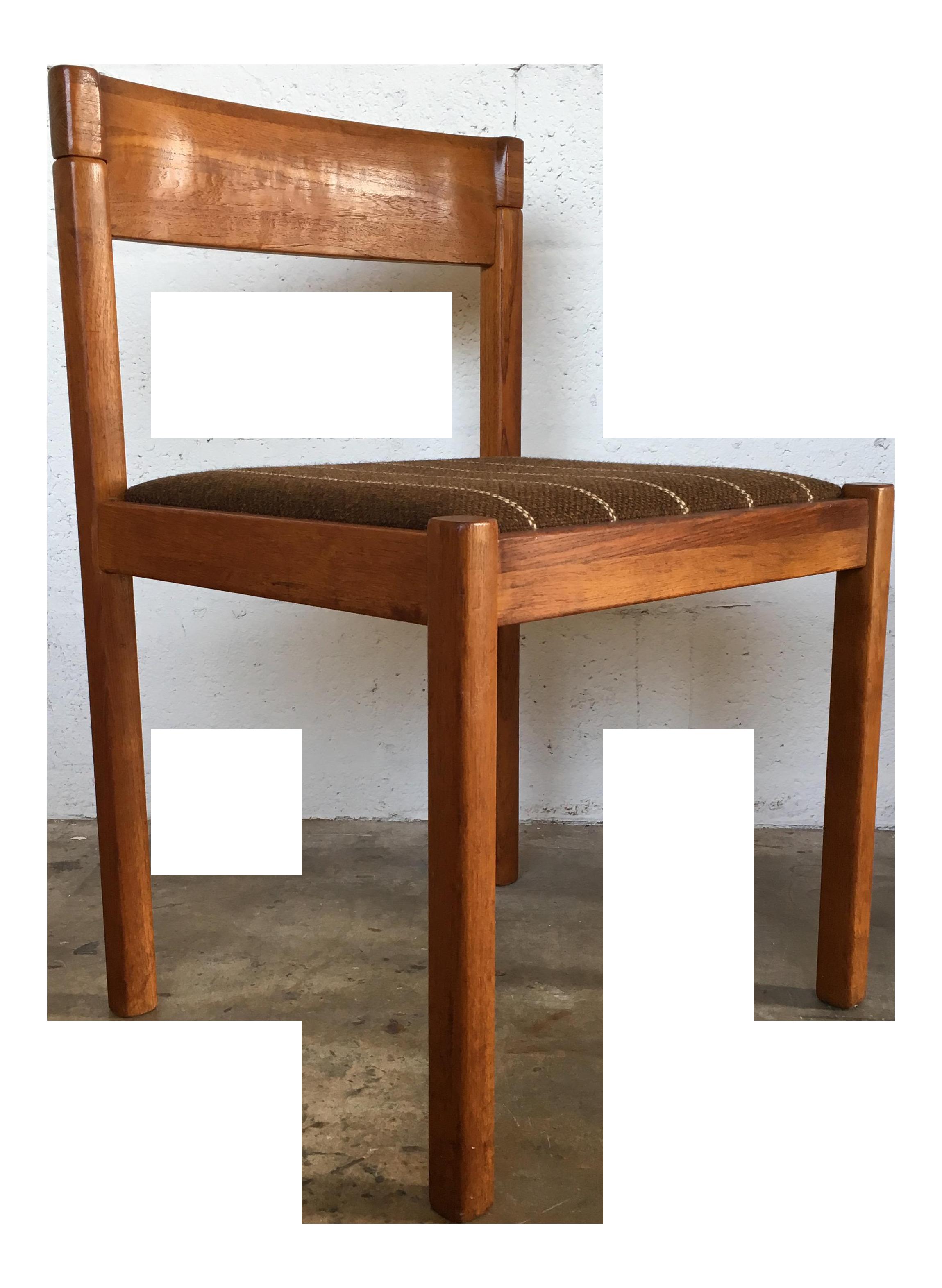 Nissen Of Denmark Vintage Danish Mid Century Modern Dining Chair