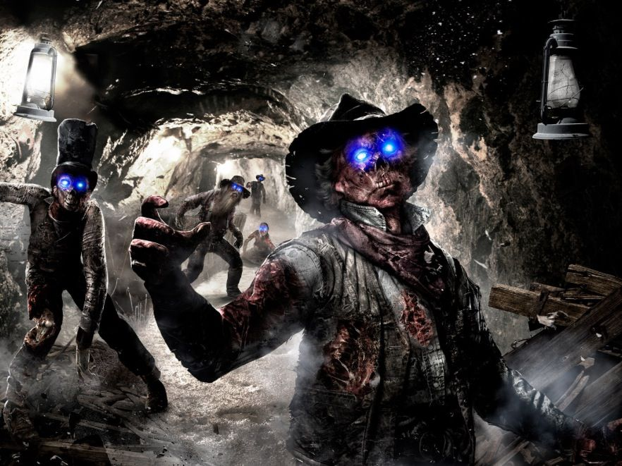 Call Of Duty Buried Black Ops Ii Dlc Zombies Map Call Of Duty Zombies Zombie Wallpaper Black Ops Zombies