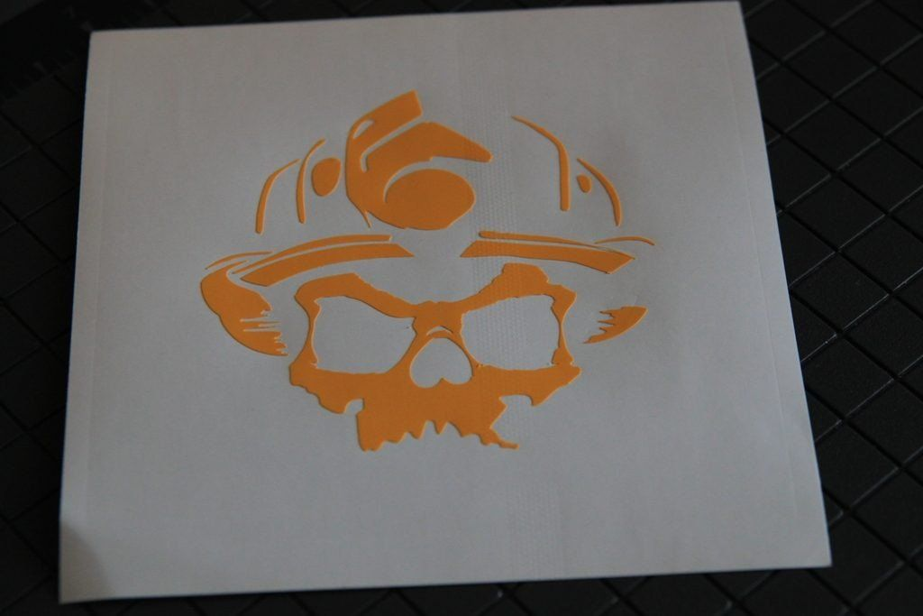 Vinyl stencil Cerakote Krylon Flame Stencil Professional! For Duracoat