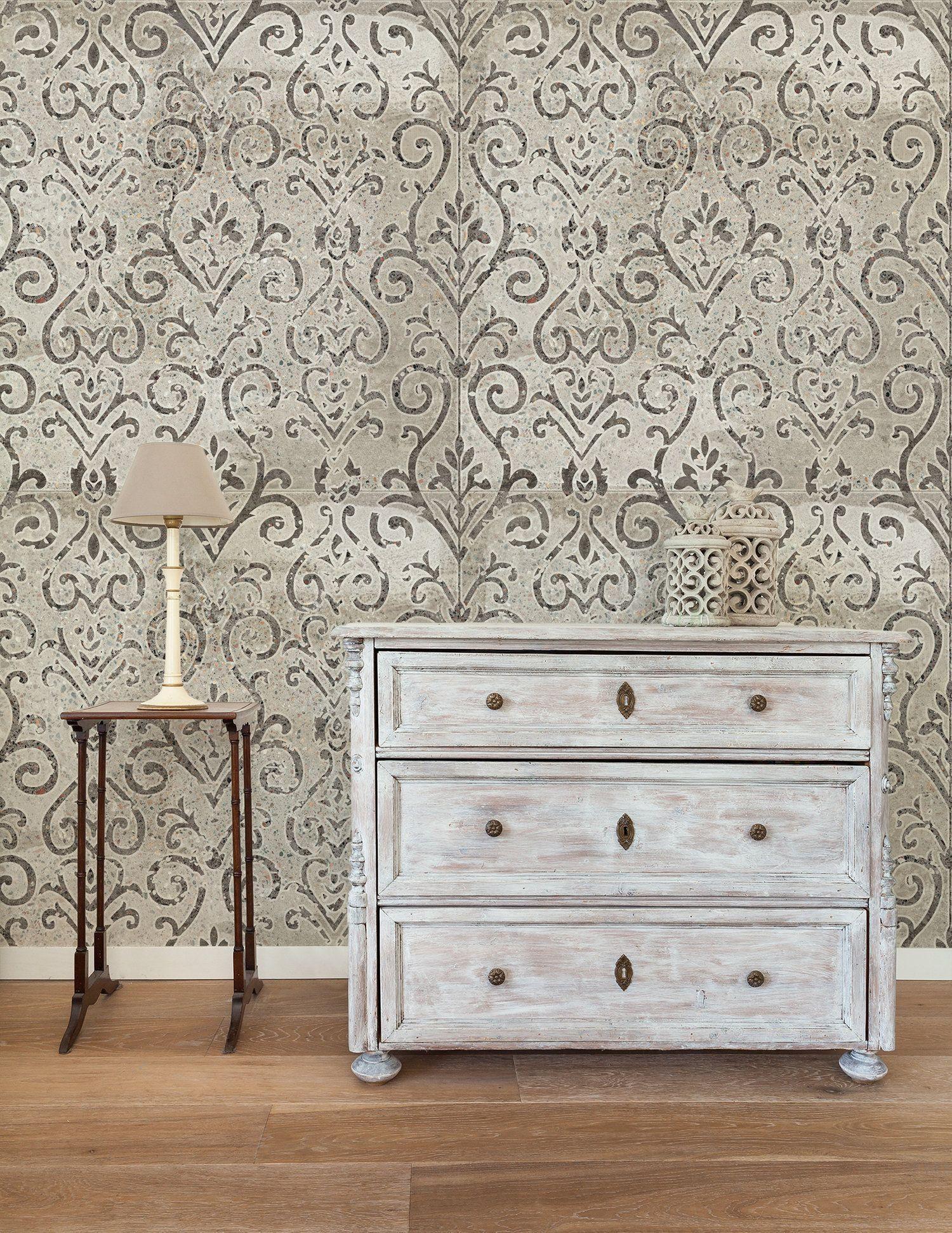 Pin On Vintage Art Wallpapers Retro Wallpaper Stone Texture Stone Tiles