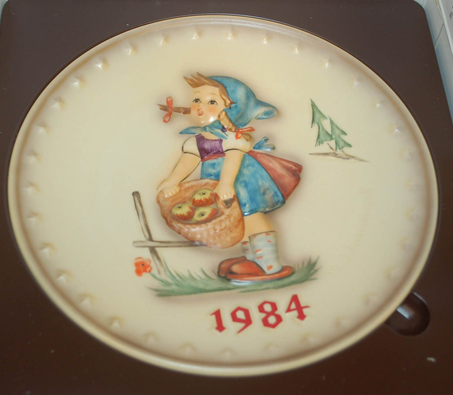 1984 hummel plate by creativetouchwi on etsy