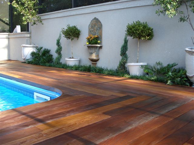Ipe Pool Deck Pool Houses Wood Pool Deck Pool