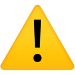 The Warning Emoji On Iemoji Com Emoji Emoji Set Emoji Codes