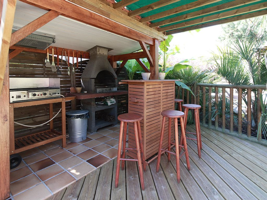 Amenagement Terrasse Barbecue Location Vacances Maison Hourtin Coin Barbecue Et Plancha