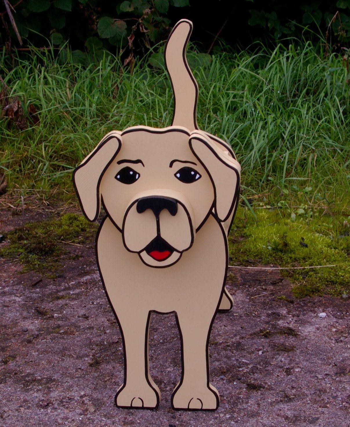 17 Funny Cute Diy Dog Planters Diy Dog Stuff Cute Diys Animal Planters