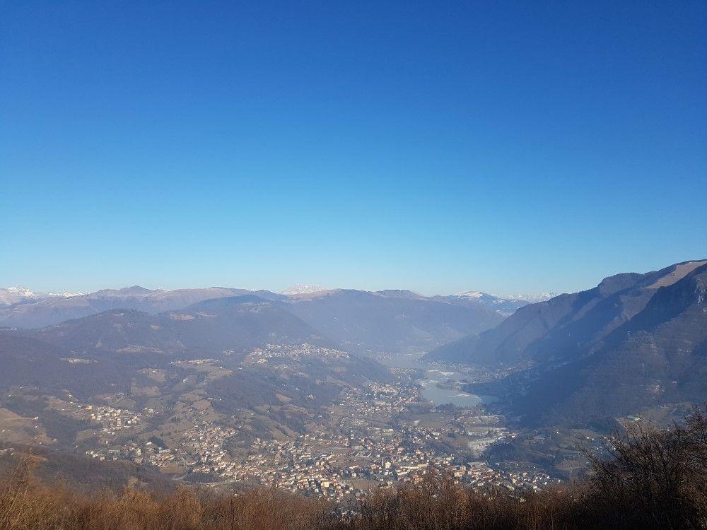 Escursione a Cesulì lungo il sentiero 621, in Val Cavallina #montagna #trekking #orobie