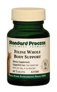 Standard Process - Feline Whole Body Support - advised by Dr. Caviness for Serena in 2013