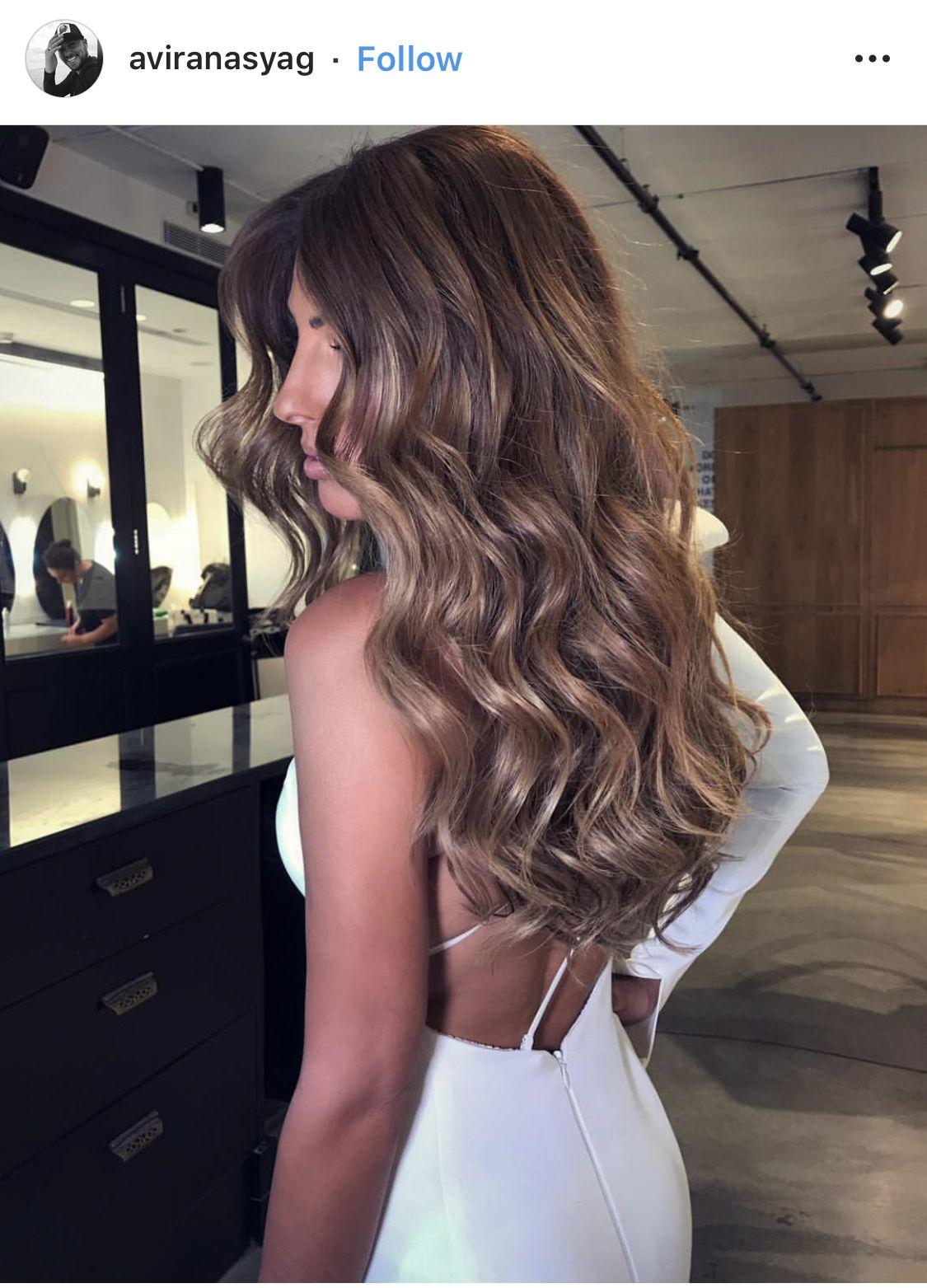 Bridal Waves Long Hair Long Hair Waves Bride Hairstyles For Long Hair Simple Prom Hair