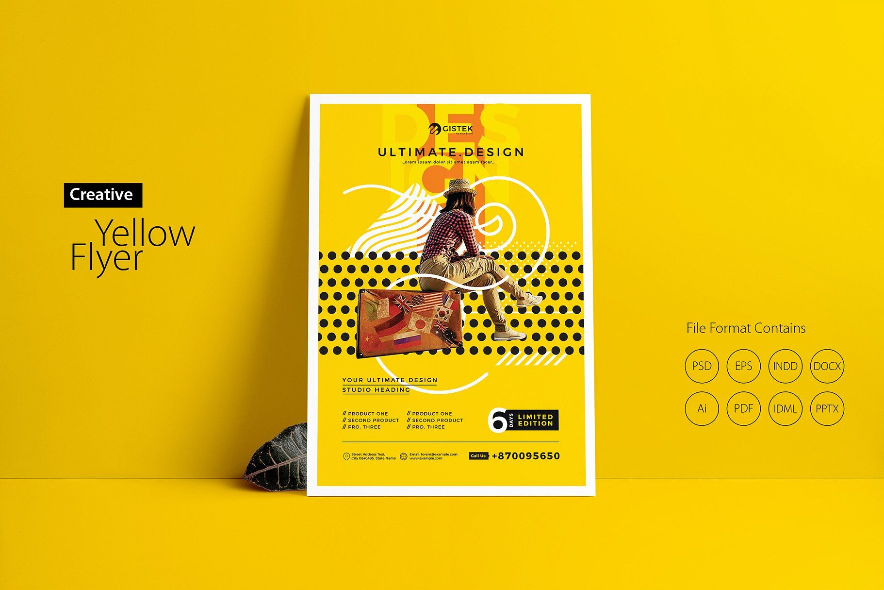 Eyecatching Poster Flyer Bundle With Images Flyer Minimal Graphic Design Creative