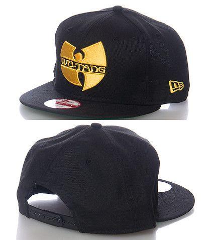 9af1c6dcb41ee NEW ERA Wutang Clan snapback cap Adjustable strap on back Embroidered logo  on front NEW ERA stitching detail