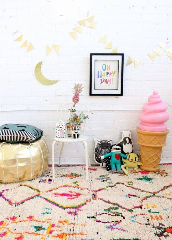 Decorating with area rugs domino · kids placeskids bedroom ideasshared
