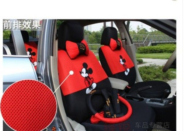 Minnie Mouse Front Car Seat Covers