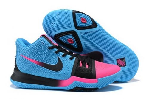 various colors 78f7d 0ac64 Official Nike Kyrie 3 DB South Beach Blue Black Pink - Mysecretshoes