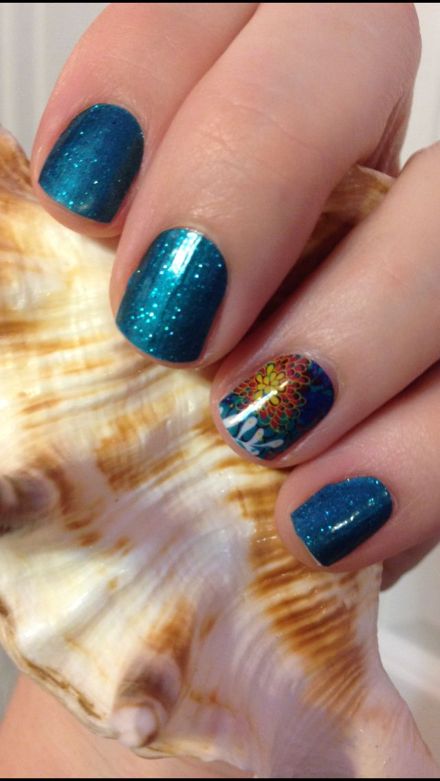 jamberry nails - under sea