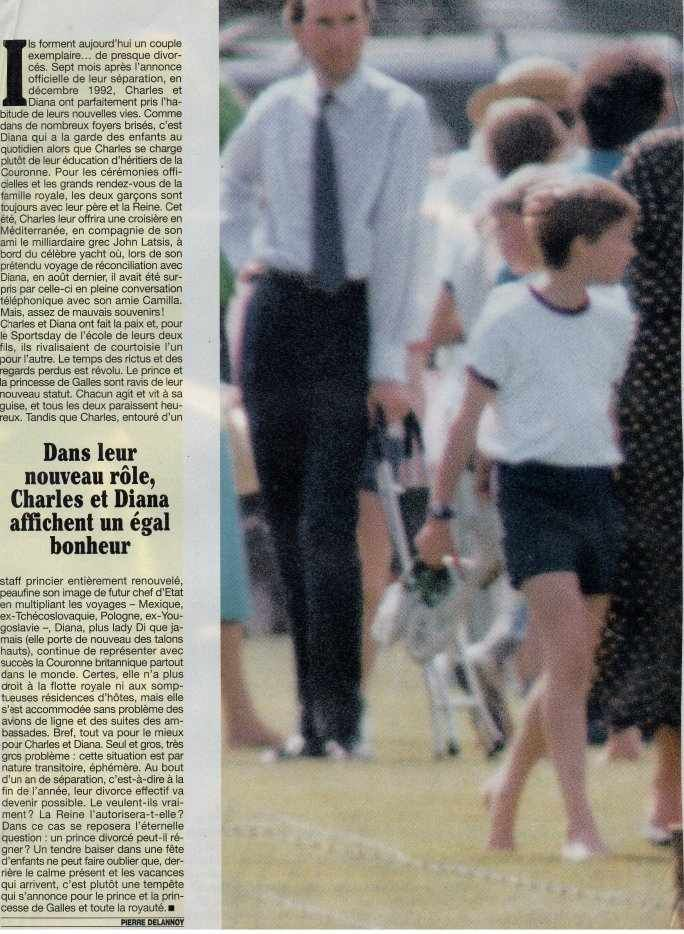 Princess Diana article w/ William