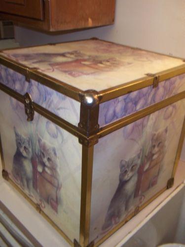 Decoupage Furniture Vintage