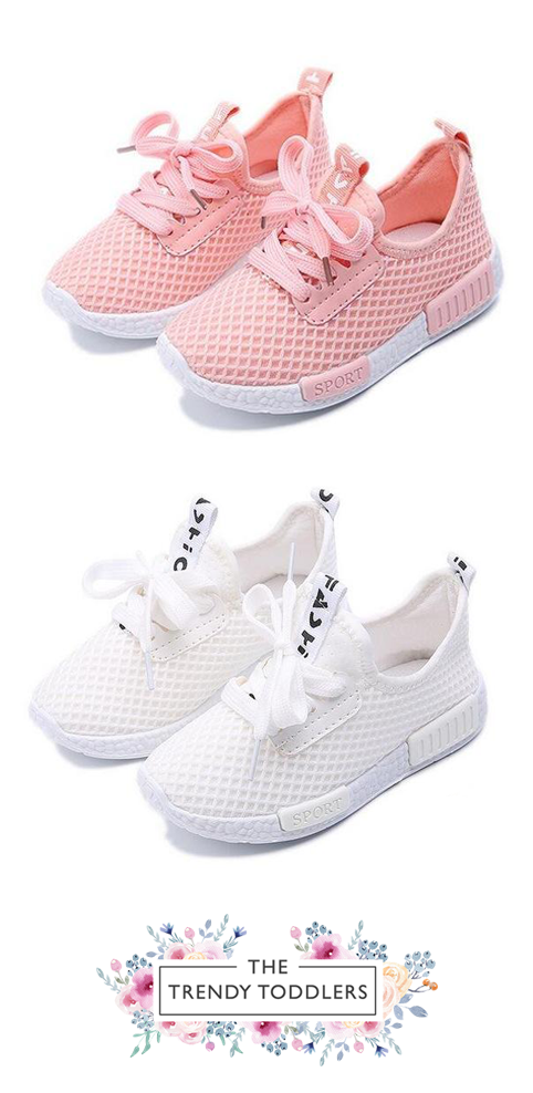 Mesh Breathable Sneakers Cute Baby Shoes Little Girl Shoes Baby Shoes